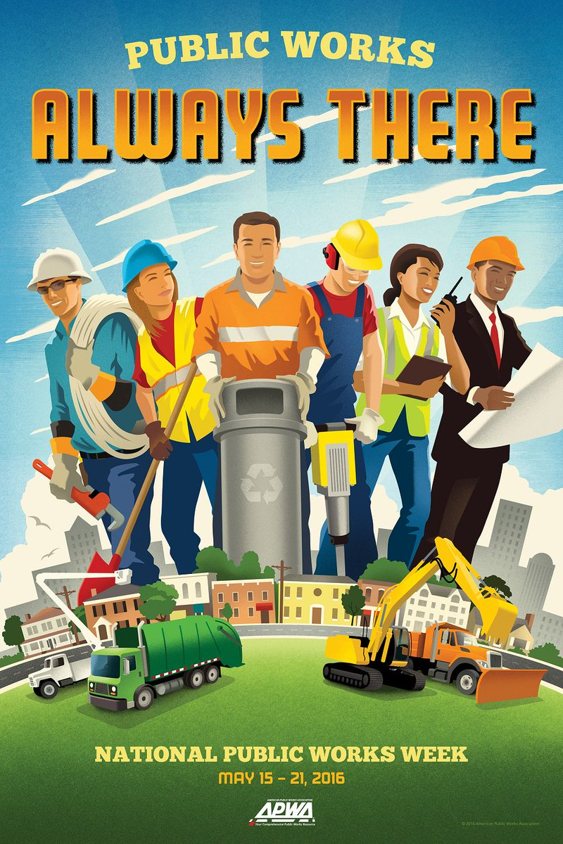 RT @lakecountyil: Happy National Public Works Week! Thank you Public Works professionals for your hard work. #NPWW https://t.co/h99xEl6fGJ