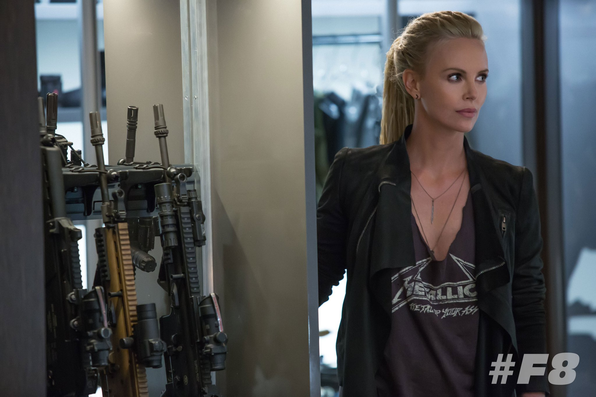 First Look At Charlize Theron's Character In Fast 8 1