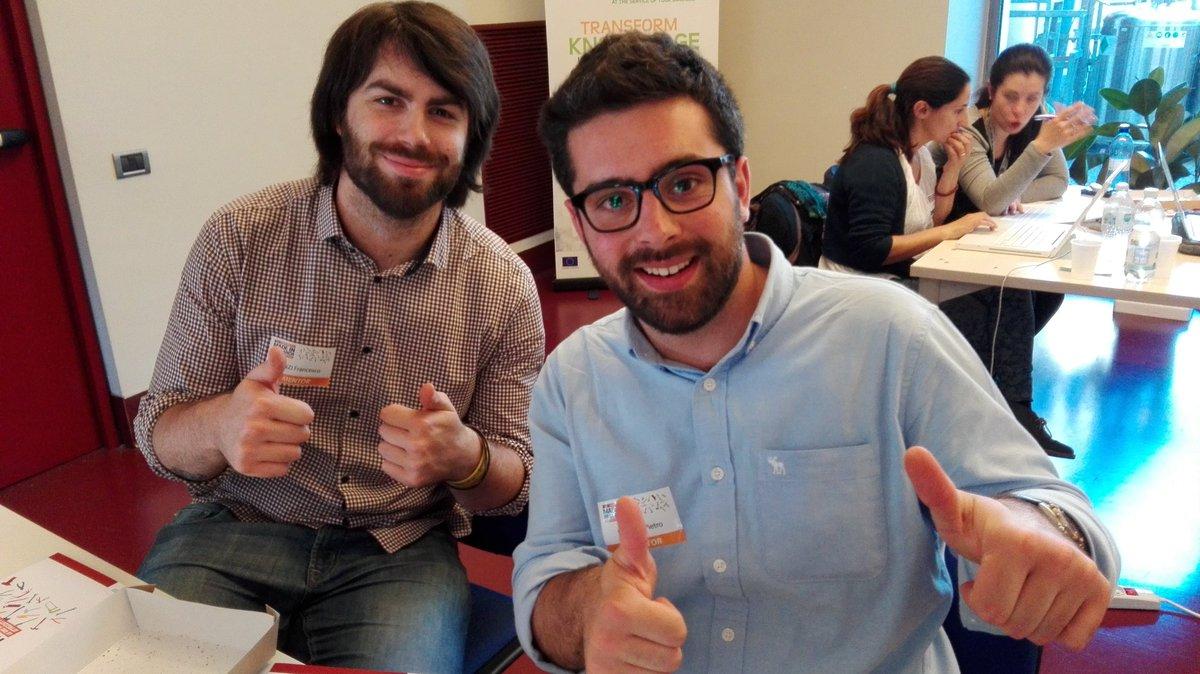 A #mir16 @PeronaPietro e @rentziass  proud to be mentor @Kooditsrl  @Incubatore2i3T https://t.co/dGwOi2iSR9