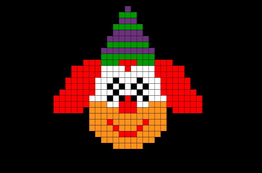Ciao Bambini Ciao Maestra Coding Pixel Art Carnevale