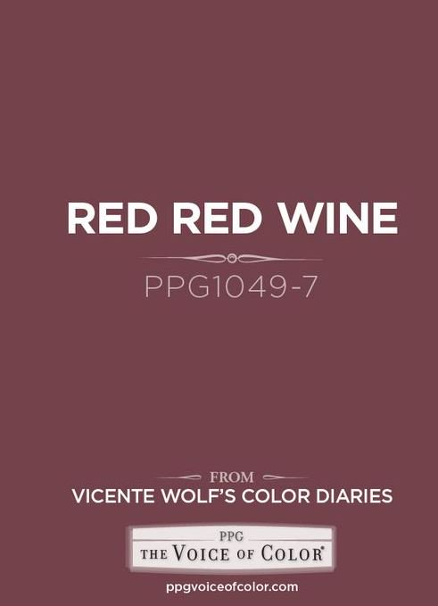 Ppg Voice Of Color On Twitter Us Too We Love Red Red Wine 1049 7