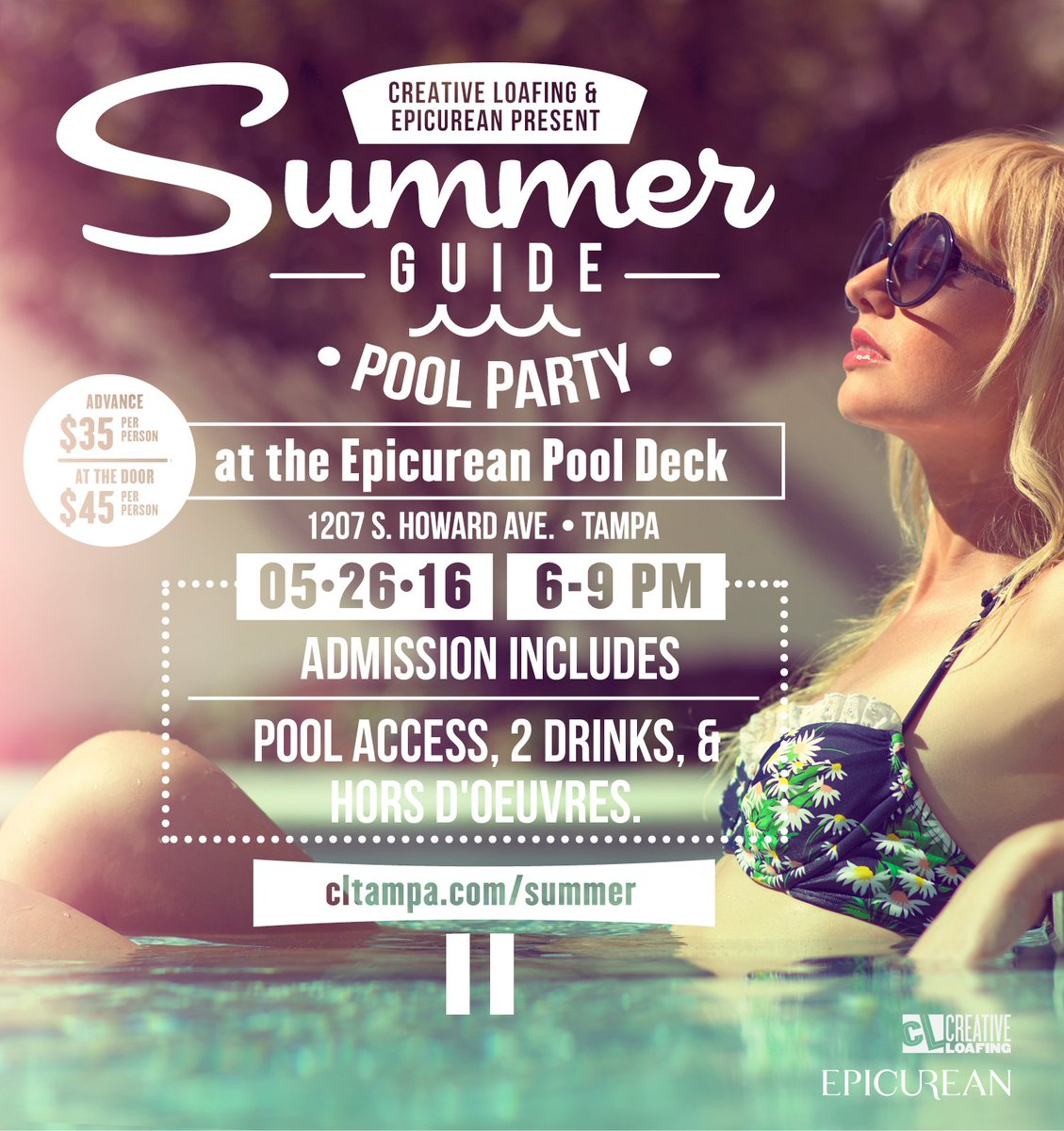 Summer Guide 2016 Pool Party