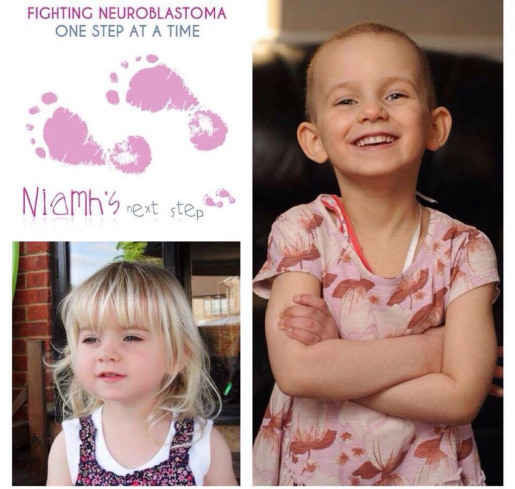 My mum works with the charity Niamh's Next Step !! It's 4 years since Sam & Chris lost Niamh. Please share !!