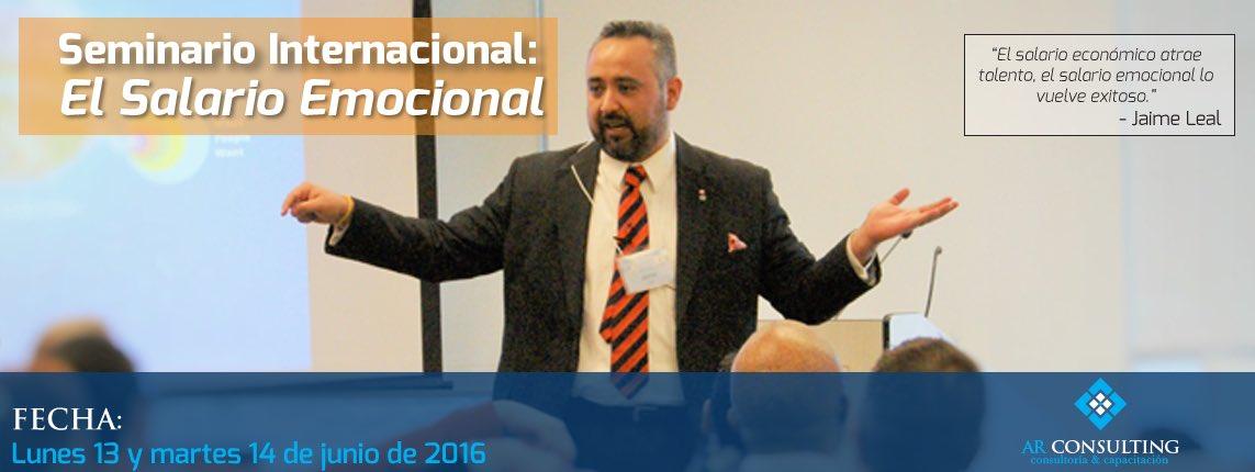 Jaime vuelve a Ecuador, Taller de Salario Emocional, 13 y 14 de Junio en Guayaquil. Llama (04)2639276 #juntosporti https://t.co/HsGDiugHUZ