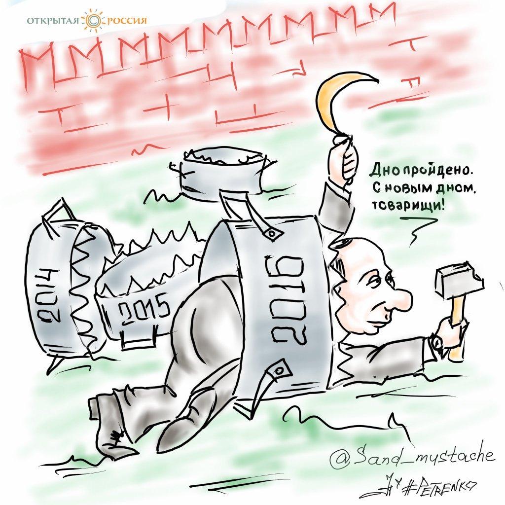 """44% россиян считают экономический кризис главной внутренней угрозой, - опрос """"Левада-центра"""" - Цензор.НЕТ 1697"""