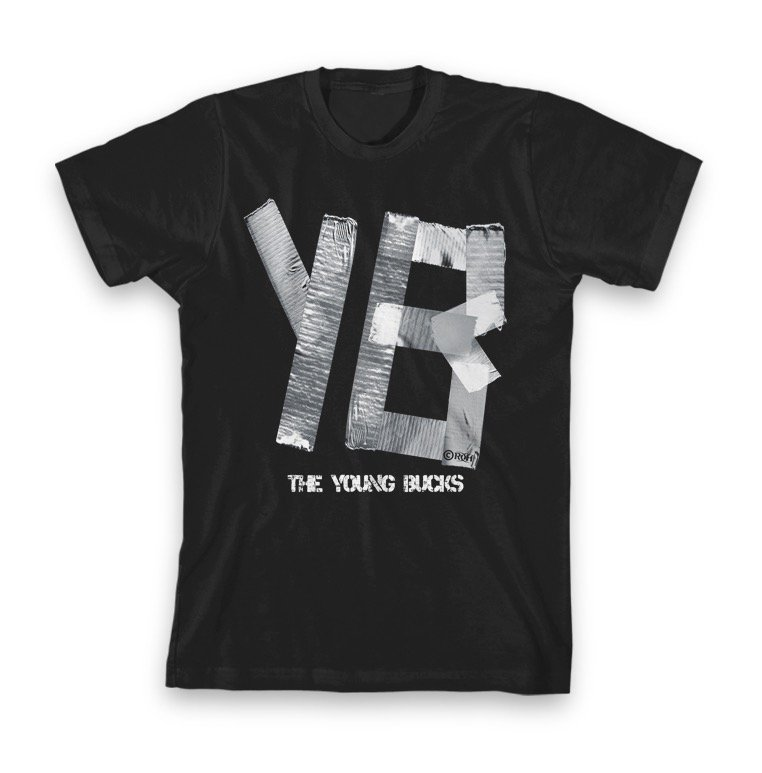 "YOUNG BUCKS ""YB DUCT TAPE"" T-SHIRT"