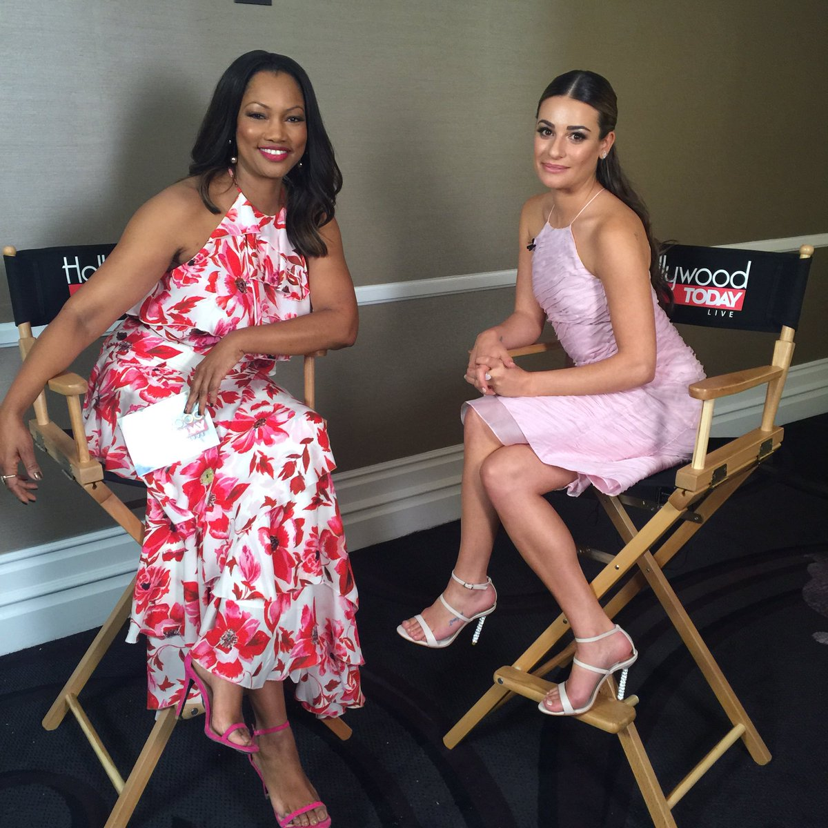 Backstage with @GarcelleB and @msleamichele with @OfficialHTL at @suwn #InspirationAwards https://t.co/RCQbSworQ9