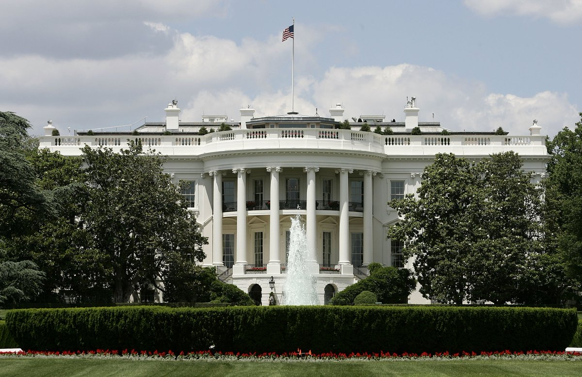 Shooting reported near White House