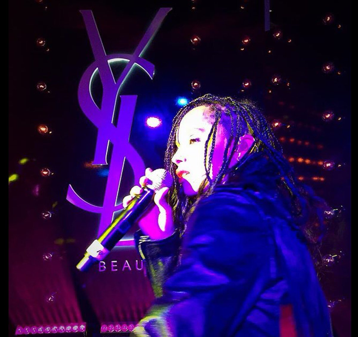Thanks for a Lovely Evening @yslbeauty  @YSL @lolawolfband #Lolawolf #MascaraVinylCouture #YSLBeauty