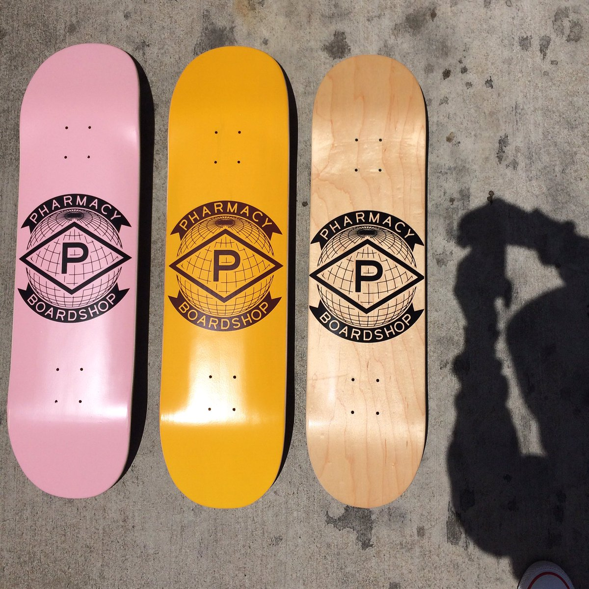 $20 dollar boards Available at all locations today. #pharmacyboardshop https://t.co/CWqUgQs4E8