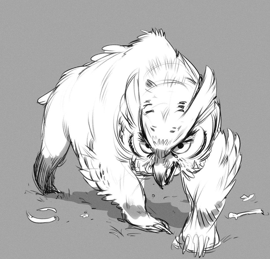 Owlbear! https://t.co/lkJ5dS78tY