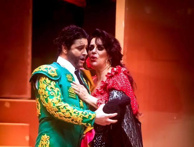 A punto para el estreno de #Carmen de #Bizet @GranTeatroNac @NFHerrera