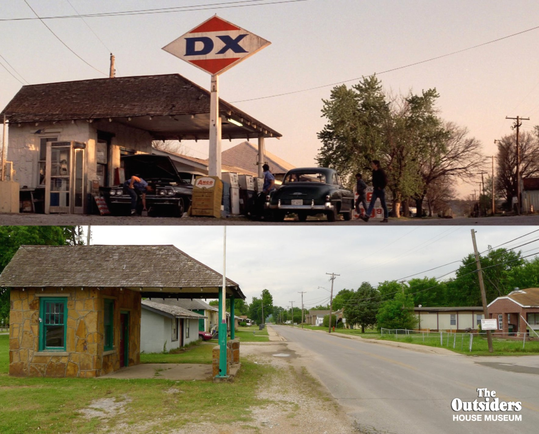"The Outsiders House on Twitter: ""DX Gas Station Sperry ..."
