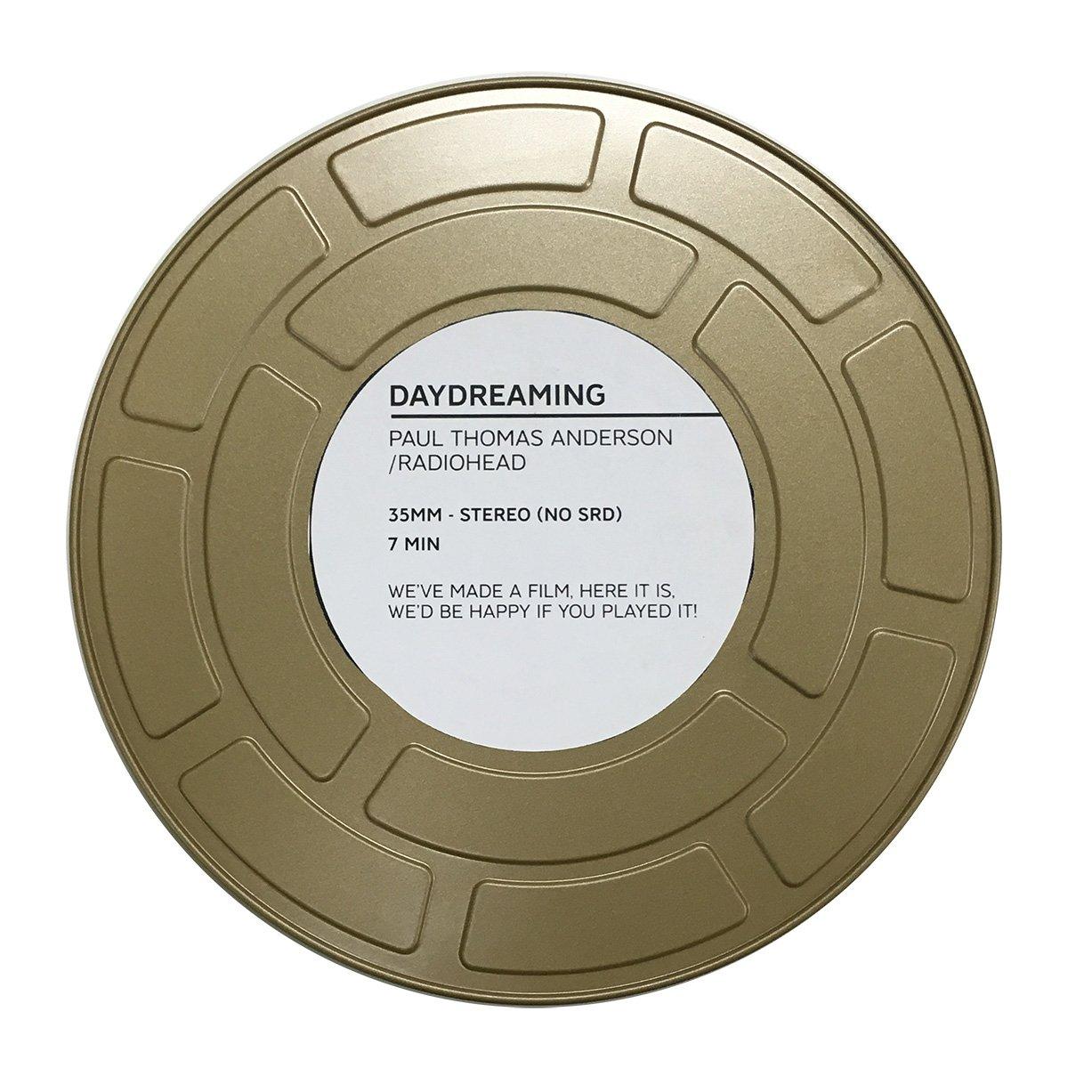 ビッグニュース!ポール・トーマス・アンダーソン監督からRadioheadのMV「Daydreaming」の35mmフィルムが届きました! Thank you #PaulThomasAnderson & #Radiohead! https://t.co/3SwyLLPROv