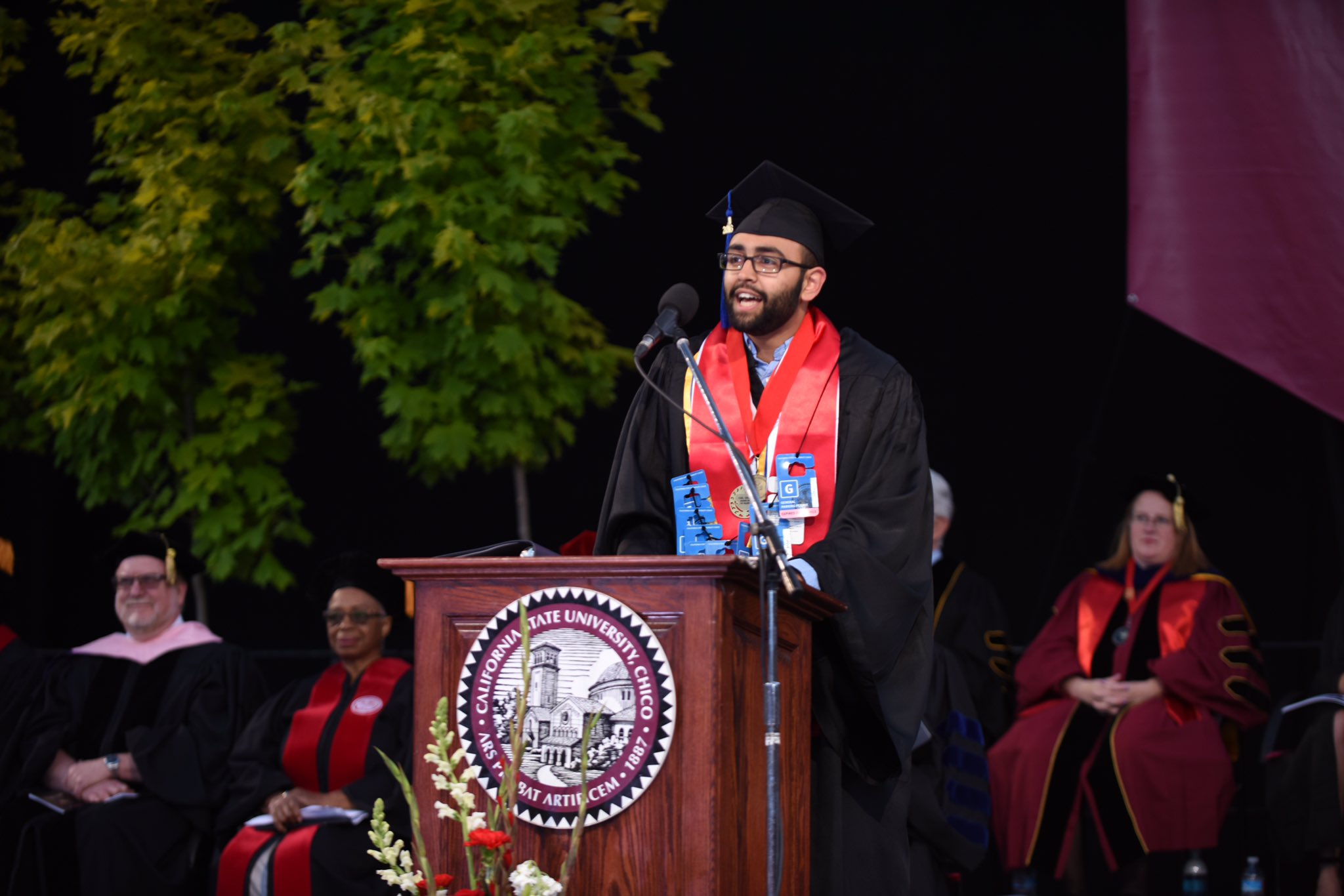 Draw upon your past experiences & trust you will end up where you need to be in the future.—Manvir Chahal #chico2016 https://t.co/uodGYthHAW