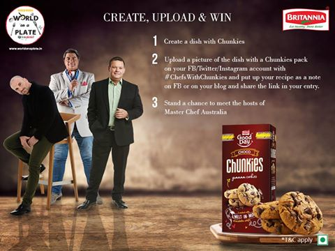 #CaL members, create a Chunkies recipe & get a chance to meet the hosts of #MasterChefAustralia! #ChefsWithChunkies https://t.co/O4ayT2od2I