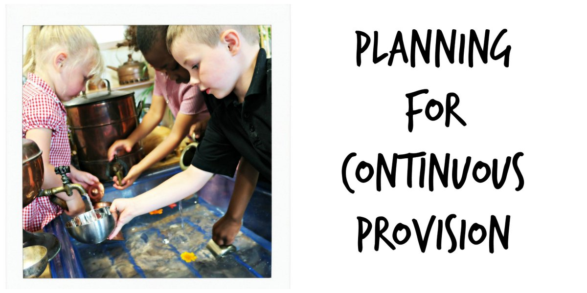 New blog post on effective planning for Continuous Provision at https://t.co/msvqerz92F https://t.co/LbuR2sI7gu