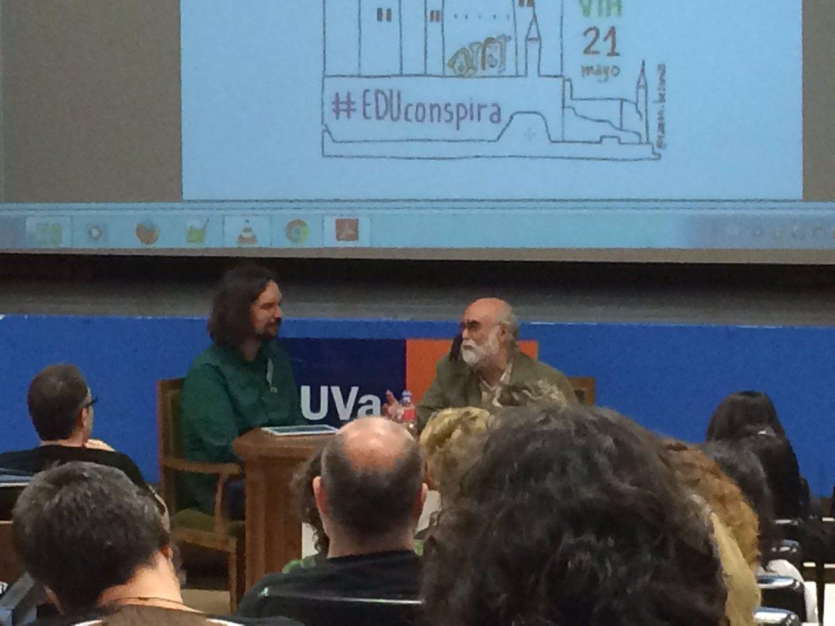 JulioRogero nos habla de crisis sistémica en la escuela que levanta voces esperanzadoras  #EDUconspira https://t.co/8KXacFtoFW