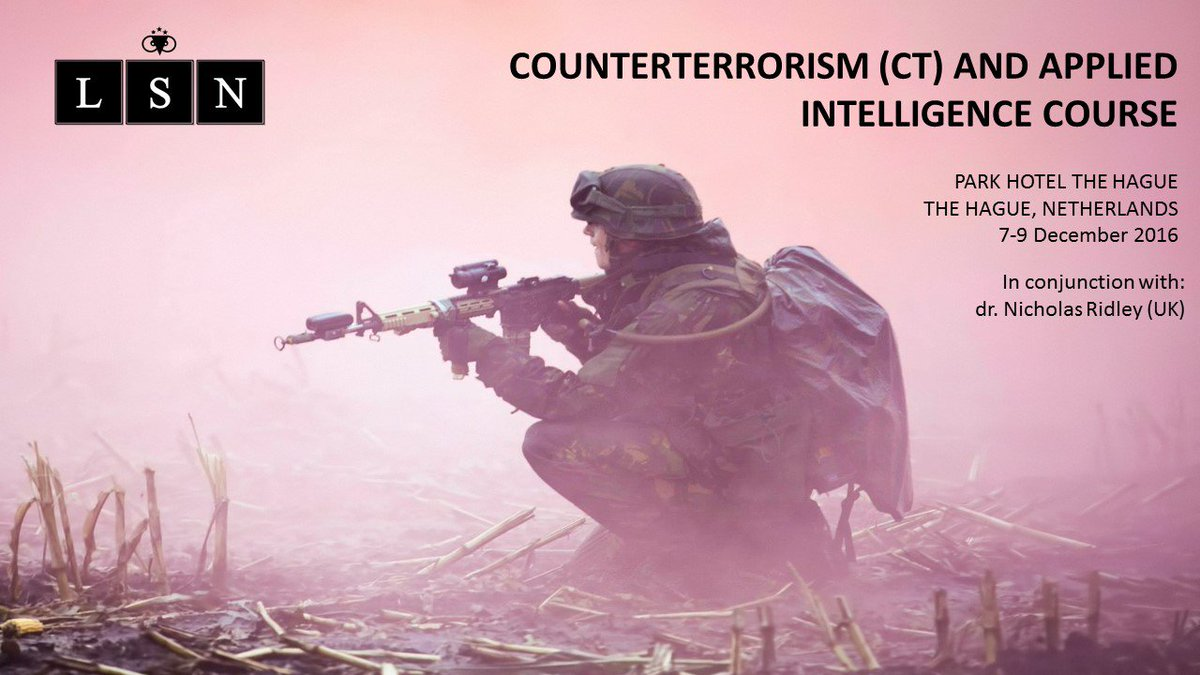 counterterrorism and intelligence framework The nypd counterterrorism bureau  training first responders and specialized units and developing intelligence capabilities for detecting and preventing terrorist.