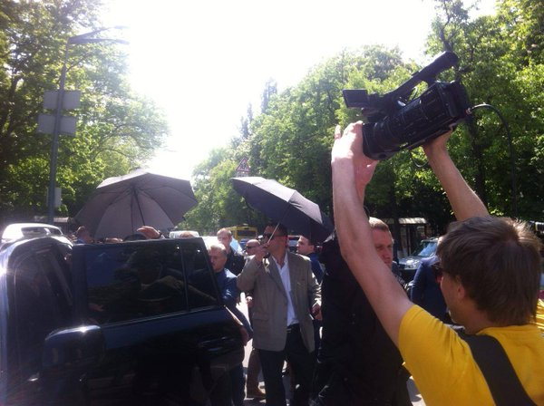 """Pro-Russian """"Opposition bloc"""" MPs in Kyiv triggered brawl ..."""