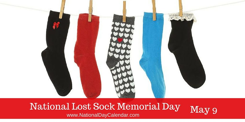 Did you know it's NATIONAL LOST SOCK MEMORIAL DAY? LOL. Where do those socks go??? #News10NBCToday https://t.co/TdVm6dc24Y