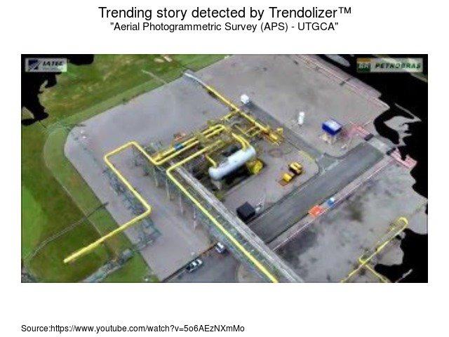 Trending Drone Video On Twitter Aerial Photogrammetric Survey APS