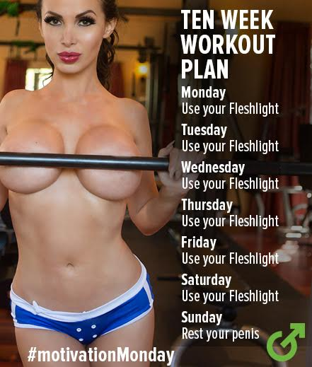 Get motivated with @nikkibenz. https://t.co/OLdGOw5C3s #Fleshlight #MotivationMonday https://t.co/7F