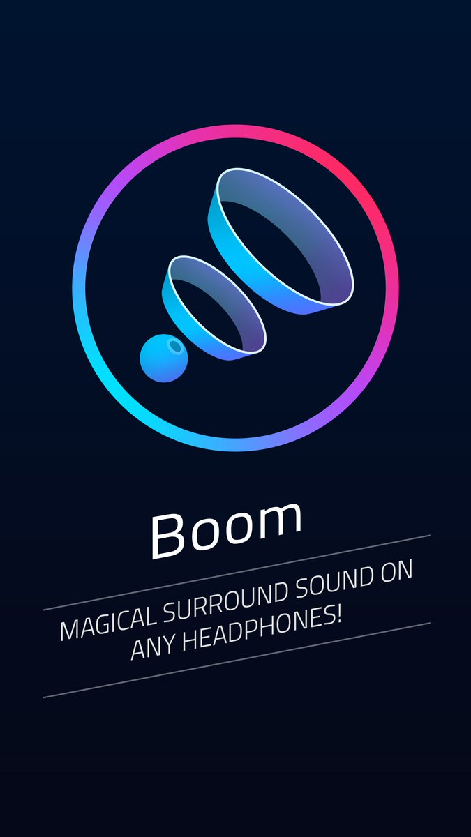 It's finally here! Boom for iOS makes your music sound LOUDER, CLEARER and BETTER!  https://t.co/wc2JGj8RJv https://t.co/TTaTr7wO1g