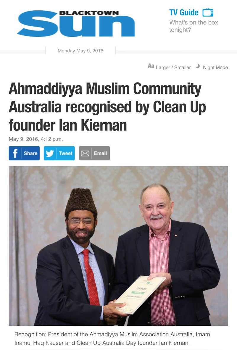 Ahmadiyya Muslim Youth Australia on Twitter:
