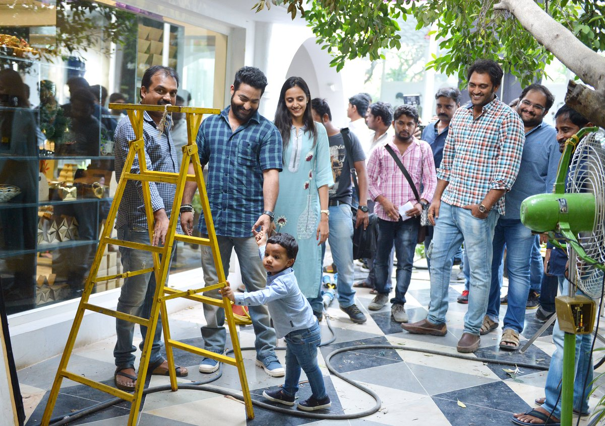 Abhay's first visit to janatha garage https://t.co/OW5BOzkVX9