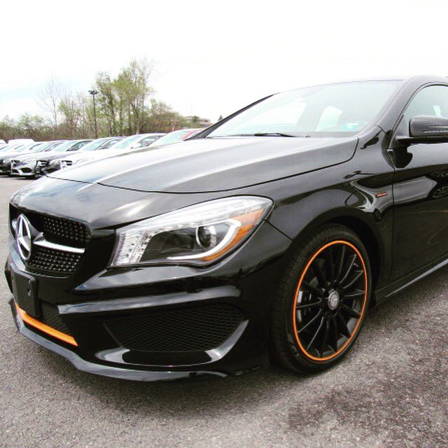 Mercedes Benz Of Syracuse On Twitter Cla 250 Orange Edition