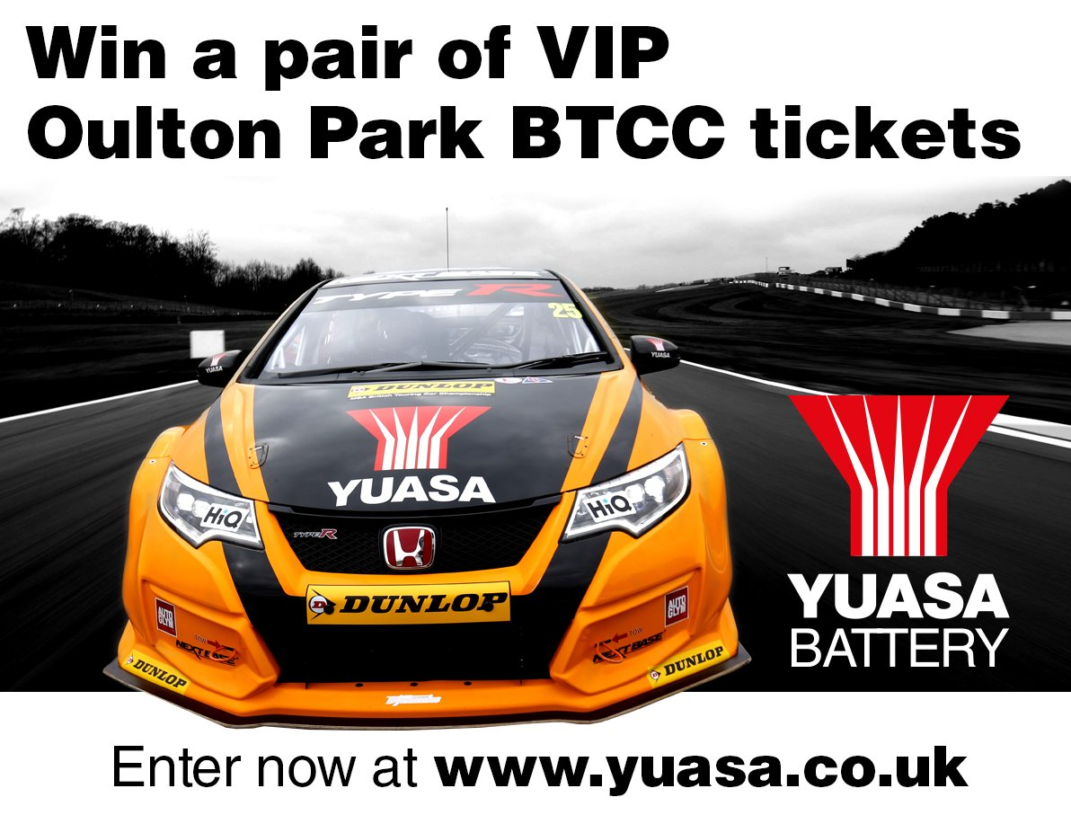 Win a pair of VIP tickets to #BTCC at Oulton Park. Enter our comp for your chance to win https://t.co/Gd36BEQspc https://t.co/QsBZQuBNLF