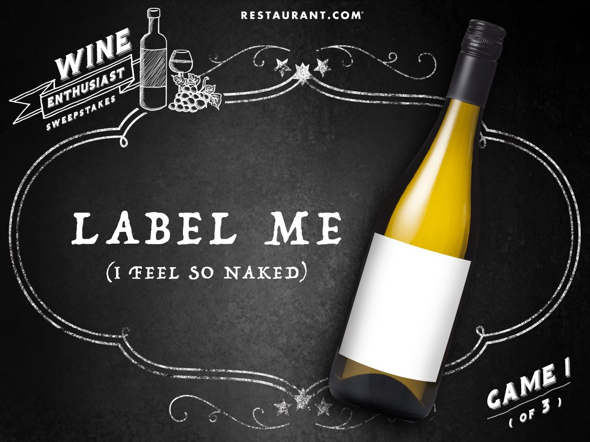 Label your own wine! Tweet us your names for a chance to win! #WineEnthusiastSweeps https://t.co/9KCOGR1CMa