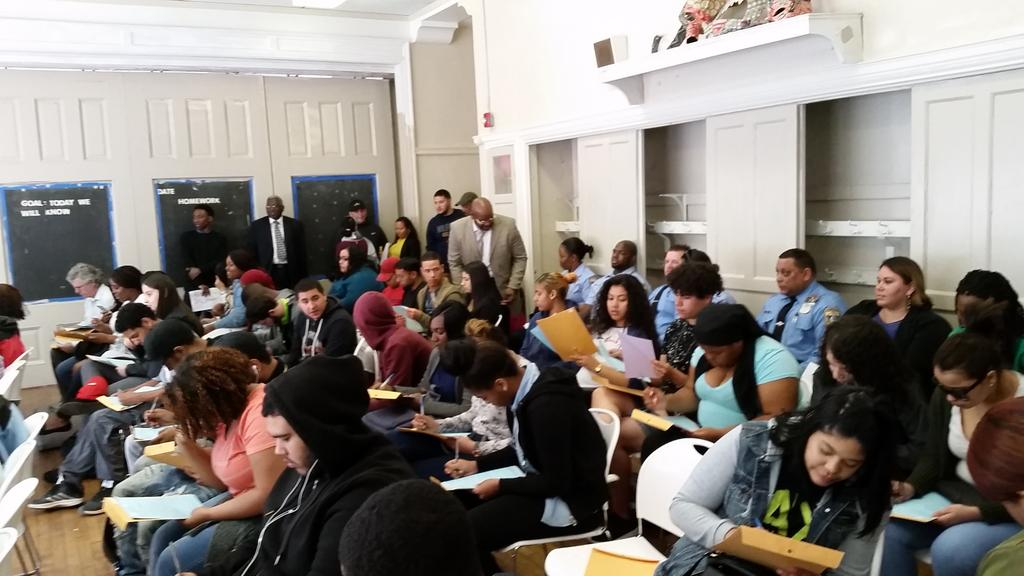 Very excited to host the Philly Police and the Disproportionate Minority Contact forum today!