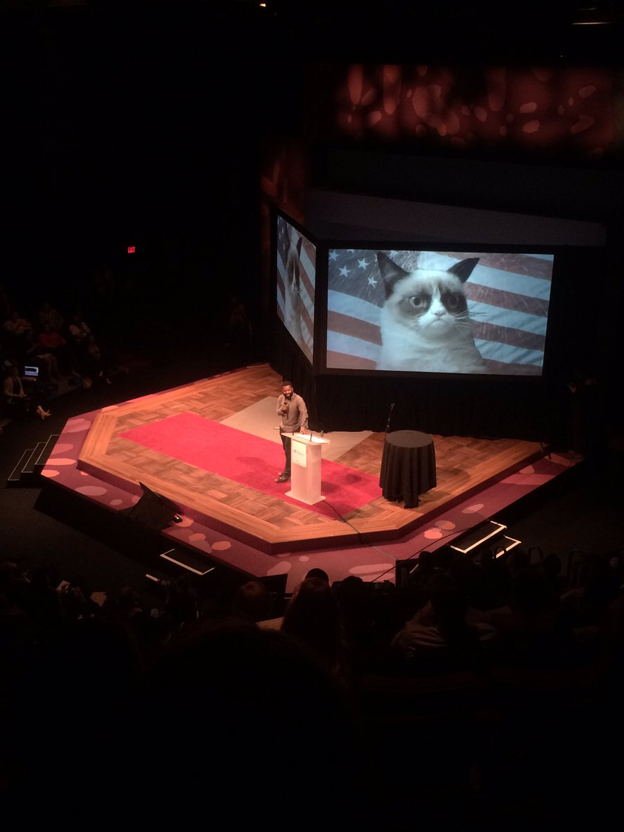 Are we fooling ourselves? Are we not the dopest? Standing on stolen land? @baratunde #bushCON https://t.co/upxzaCncwz