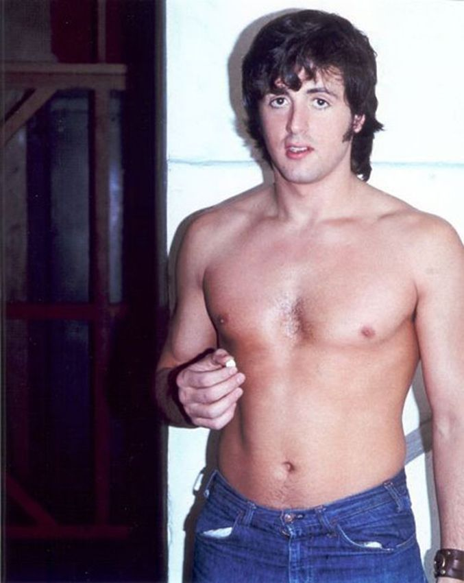 Young pictures stallone sylvester Shocking pictures