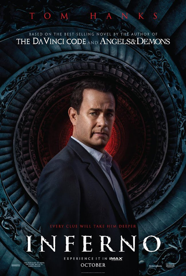 Inferno Trailer Featuring Tom Hanks 2