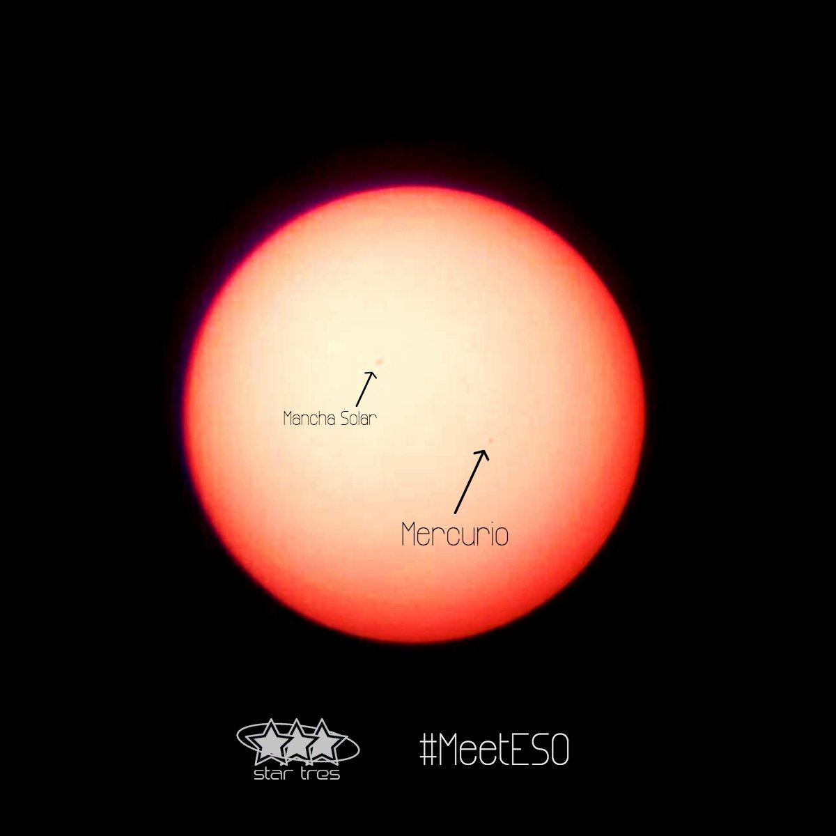 Tránsito de #Mercurio desde @ESO Garching. #MeetESO #Astronomy Créditos: @MatiasBlana @Karolniai https://t.co/Ad4BbcSMhP