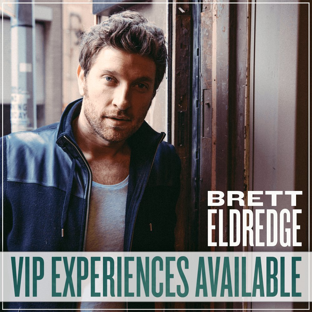 Brett Eldredge On Twitter Vip Packages Are Here Lets Be Weird