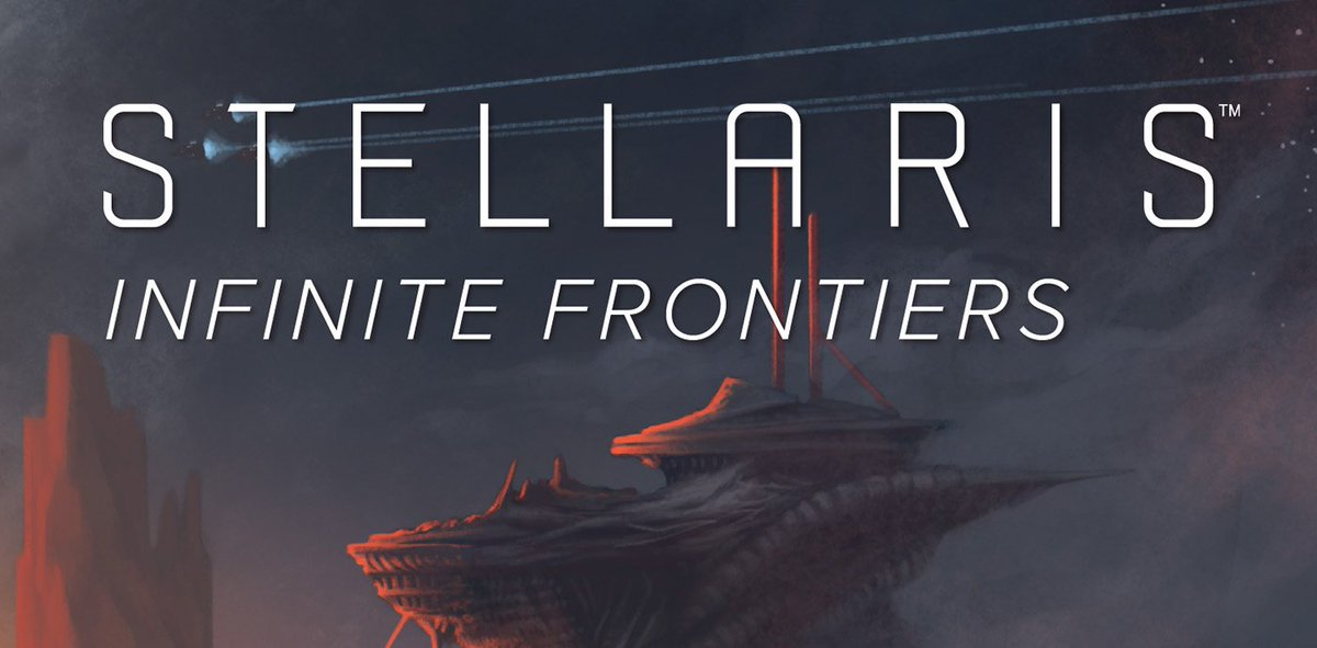paradox books on twitter e novel stellaris infinite frontiers by