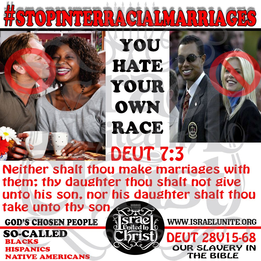 Where in the bible does it talk about interracial marriage