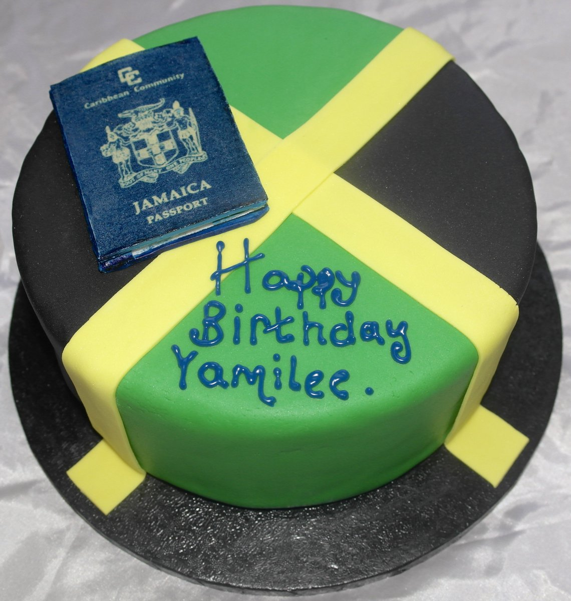 Caribbean Cupcakes on Twitter Jamaican flag birthday cake and