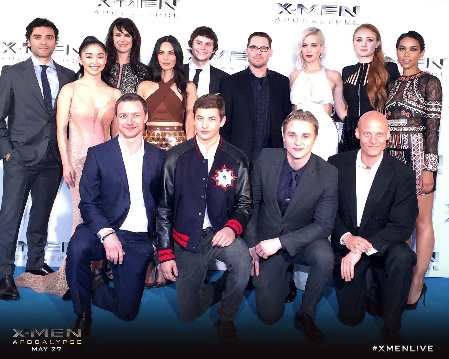 X Men Cast X-Men Movies on...