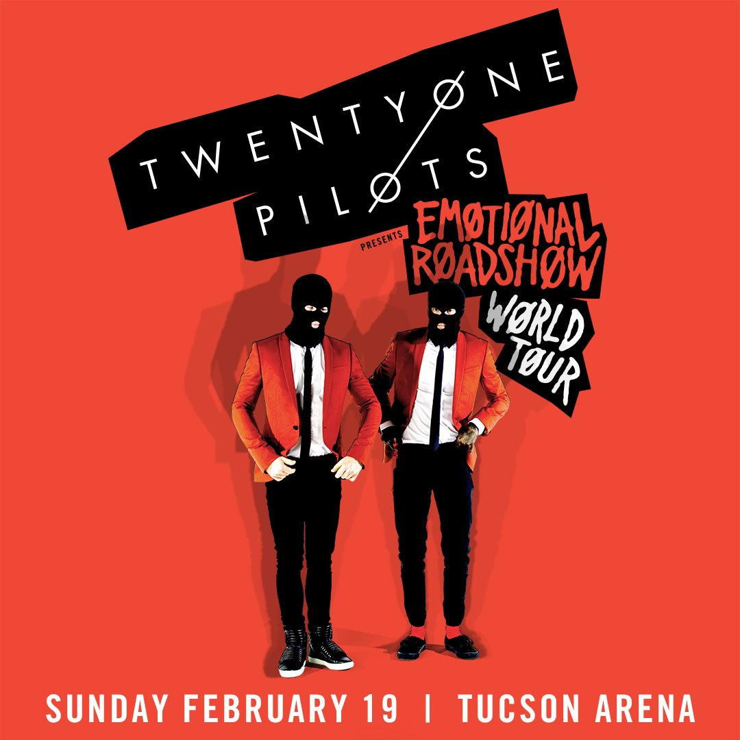 We have your chance to win tickets for @twentyonepilots before they go on sale!! https://t.co/YTniKMywpm https://t.co/olXVGfJ2dK