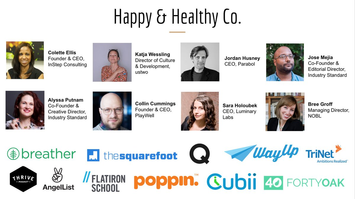 Proud to have these incredible speakers & vendors at Happy & Healthy Co. on 5/20! Join us: https://t.co/1zujfdCUgG https://t.co/vu0cUnUm59