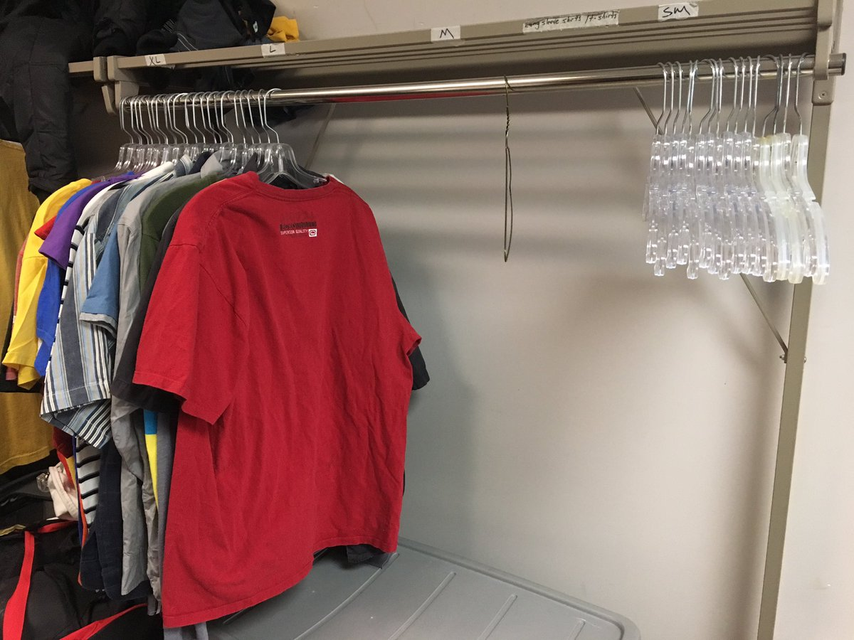 Our clothing room is almost empty. We urgently need men's spring and summer clothes to help those in need. #giveback https://t.co/HY2tHy0KFw