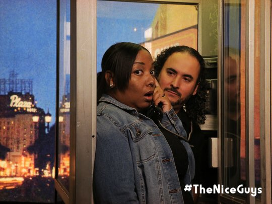 We had a great time at #theniceguys screening! @theniceguys #ad https://t.co/GYFVOetzGc https://t.co/2zKP0tyq8x