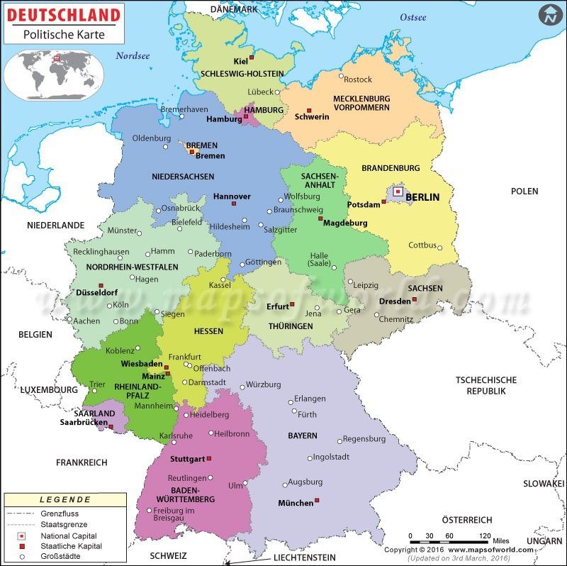 Sammi On Twitter Germany Map In German Language