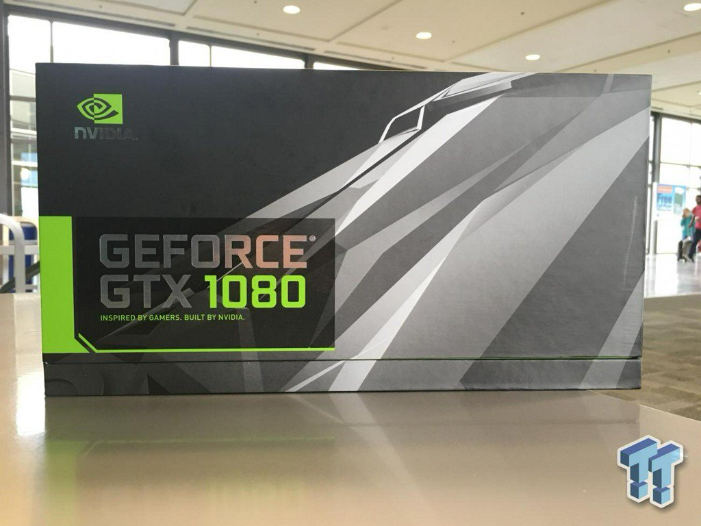 ICYMI: NVIDIA GeForce GTX 1080 'Founder's Edition' (Ghetto) Unboxing https://t.co/ikypPR097r