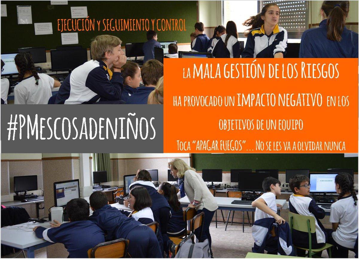 #PMescosadeniños en #ILSA_Primaria @LaSalleInstituc continúa. Riesgos mal gestionados provocan impactos y nervios. https://t.co/wLBjVIc0x5